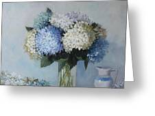 Fresh Summer Hydrangea 2 Greeting Card