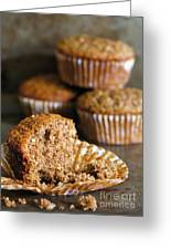 Freshly Baked Muffins Greeting Card