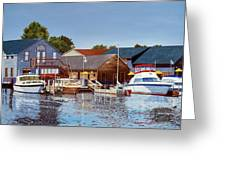 Freshwater Fishers Greeting Card