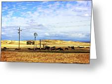 Fresno County Pastoral Greeting Card