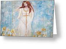 Freya - Goddess Of Love And Beauty Greeting Card