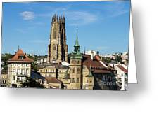 Fribourg, Switzerland Greeting Card