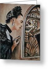 Frida Catrina Greeting Card