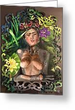 Frida De Ophelia Greeting Card