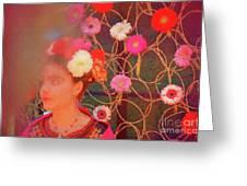 Frida Kalho Inspired Greeting Card