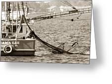 Friendly Fisherman Greeting Card