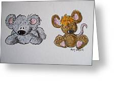 Friends 2 Greeting Card