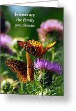 Friends Are Family Greeting Card