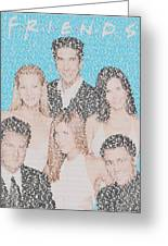 Friends Episode Mosaic Greeting Card