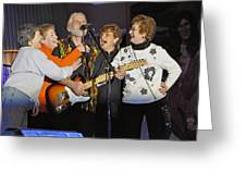 Friends In Concert Greeting Card