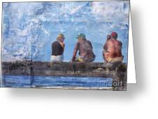 Friends In Paradise Greeting Card