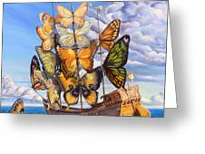 Friendship Greeting Card by Denise H Cooperman