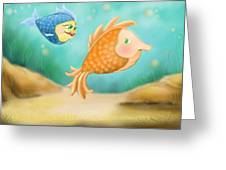 Friendship Fish Greeting Card