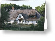 Friesian House Greeting Card