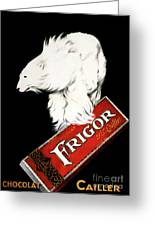 Frigor Chocolate Poster By Leonetto Cappiello, 1929  Greeting Card