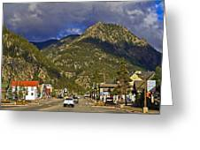 Frisco By The Mountain Greeting Card