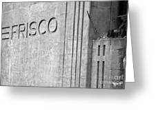 Frisco Lines Greeting Card