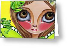 Frog Fairy Greeting Card