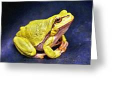 Frog - Id 16236-105000-7516 Greeting Card