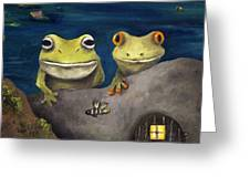 Frogland Detail Greeting Card