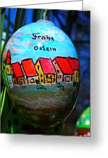Frohe Ostern Greeting Card