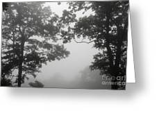 From Inside A Cloud Greeting Card