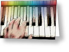 From Keyboard To Keyboard Greeting Card