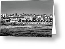 From Redondo Beach Pier Greeting Card