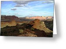 From Sunset Point 2 Greeting Card