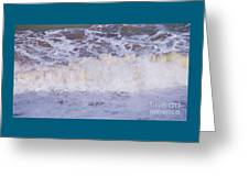From The Beach In Bray, Ireland Greeting Card