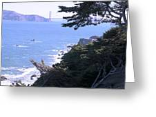 From The Cliff Of Lands' End 04 Greeting Card