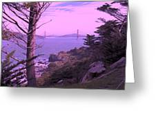 From The Cliff Of  Lands End 06 Greeting Card