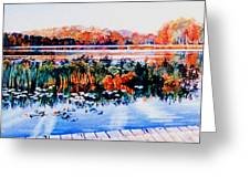 From The Dock Greeting Card