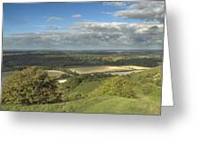 From The Downs To The Weald Greeting Card