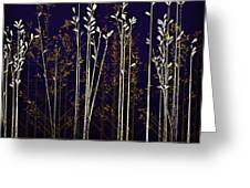 From The Grass We Creep Greeting Card