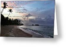 From The Rising... Greeting Card