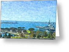 From The Shore Greeting Card