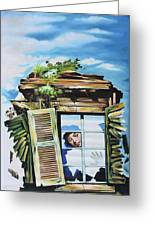 From The Window Greeting Card