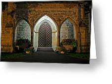Front Door Christ Church Cathedral 1 Greeting Card