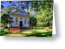 Front Of A Small Church Greeting Card