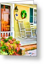 Front Porch 2 Greeting Card