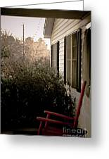 Front Porch Memories Greeting Card