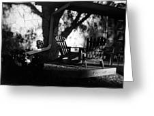 Front Porch Greeting Card by Michael Ringwalt