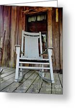 Front Porch Rocker Greeting Card