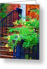 Front Stoop Greeting Card