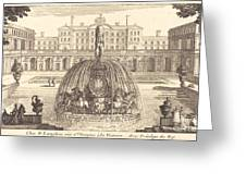 Frontispiece Greeting Card