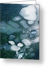 Frosted Bubbles Greeting Card