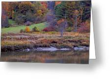 Frosty Autumn Morn Greeting Card