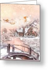 Frosty Creek Greeting Card