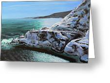 Frosty Fort Amherst Greeting Card